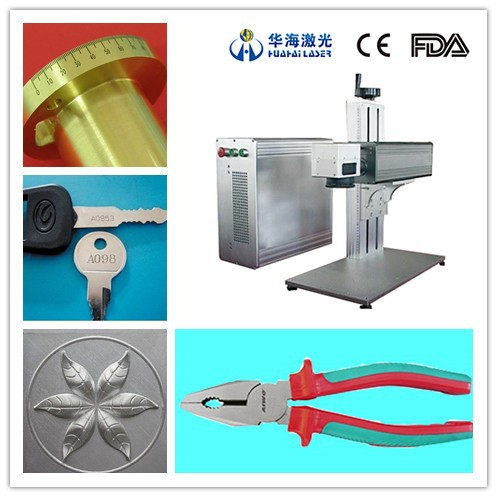 alibaba hot sale 10W 20W 30W h2d barcode marking fiber laser marking machine made in China