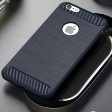 Brush Carbon Fiber Case for iPhone 6, For Apple iPhone 6s case
