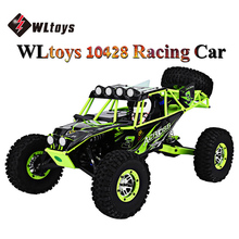 WLtoys 10428 RC Cars 2.4G 1:10 Scale 540 Brushed Motor Remote Control Wild Track Warrior RC Electric Car Vehicle Toy
