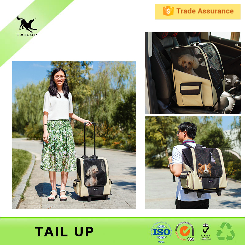 Traveling Walking Pet Front Backpack Carrier For Dogs