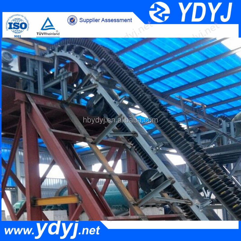 China supplier sidewall corrugated belt conveyor price