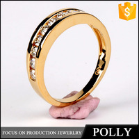 Polly Latest wedding ring designs, 18k gold new model wedding ring