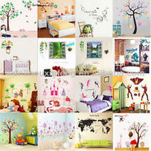 pvc easy peel off wall sticker/wall quote sticker