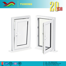 YH Wholesale factory customized multifunction new design glass casement upvc window