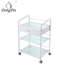 Multi-function beauty hairdressing manicure trolley