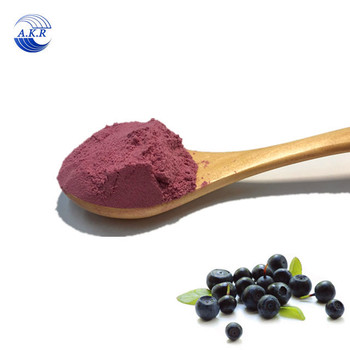 Energy drinks raw material Acai berry extract powder/Euterpe badiocarpa extract Best price