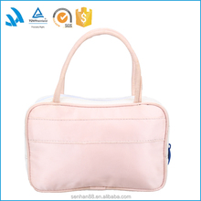 Roll up travel cosmetic bag, folding toiletry bag for lady