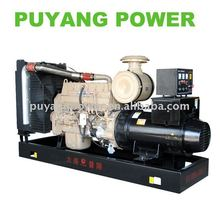 8kw to 2400kw CE Approved Water cooled AC three phase diesel generator with LCD display control panel