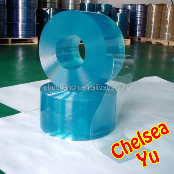 Clear polar flexible roll plastic curtain for cold storage