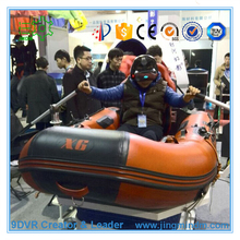 Exciting Amusement Park Equipment Rides 9D VR Water Rafting, Drifting Machine Vibration Simulator