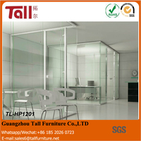 2016 hot selling room cubicle office screen dividers modular