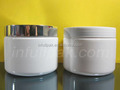 12oz/360ml White Wide Mouth Jar with Aluminum lid