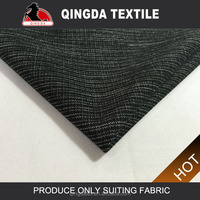 100% Polyester suiting fabric Hot women office uniform style fabric for mens and woven school uniform patterns trousers fabric