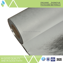 Metalized PET coated non woven fabric