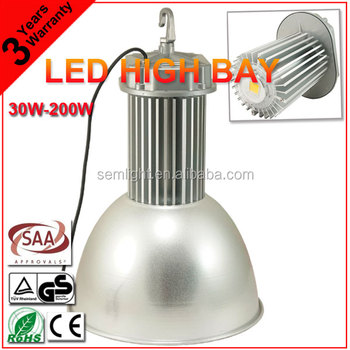 SAA CE RoHS TUV LED High Bay Light IP65 100W COB Industrial LED Light