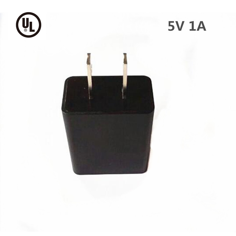 Flame Retardant UL Approved 5V 1000ma Universal Wall Socket USB Charger