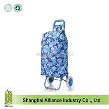 2015 Low Price Promotional Shopping Trolley Bag With 2 Wheels