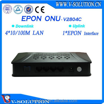 4fe fiber optic ftth gepon onu compatible with most of olt