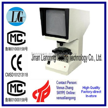 Charpy impact sample gap profile projector factory supply