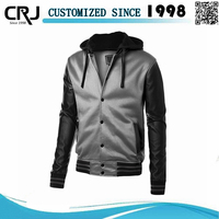Fashion Unique Baseball Men Fleece Jacket