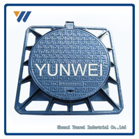 Minerals & Metallurgy Cast Iron Manhole Cover Price/Sewer Covers With Frame