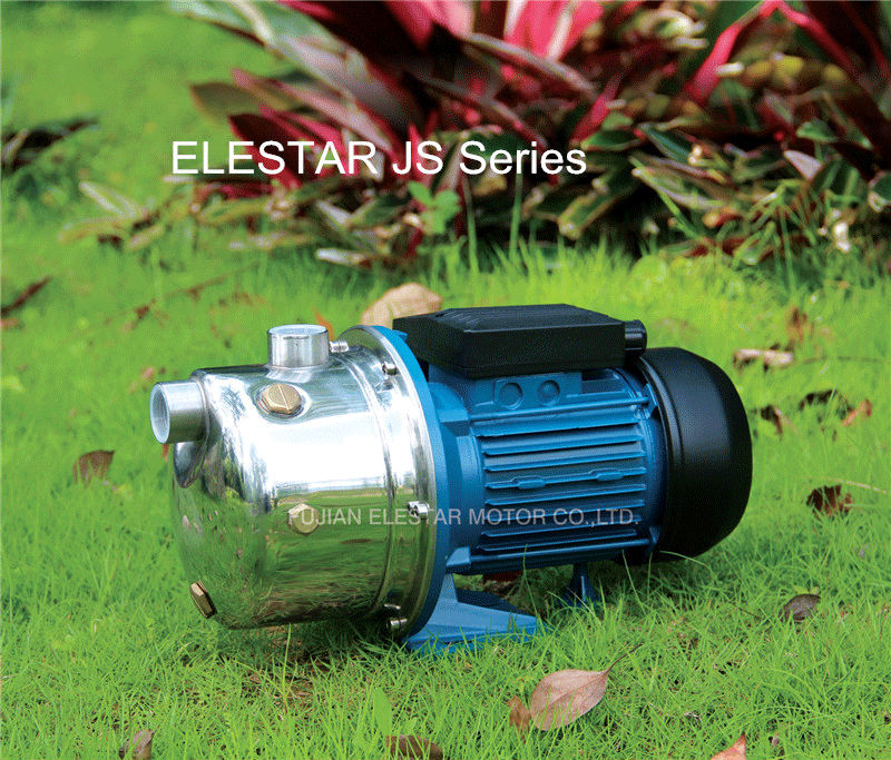 2 ELESTAR JS with pressure tank & switch AUJET water pump Russia