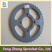 45# Steel AX100 Motorcycle Chain Sprocket for Africa Market