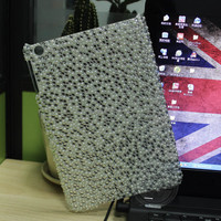 bling diamond hard pc bumper case for ipad mini , shockproof for ipad mini case