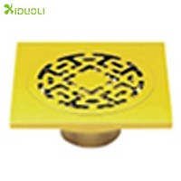 Gold Bathroom Floor Drain/kitchen Floor Drain/floor Drain