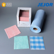 Spunlace Nonwoven Lint Free Dry Nonwoven Wipes