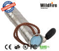 stainless steel high power 350 lumens UV flashlight