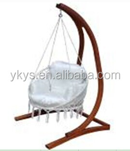 Good quality hammock chair with wood hammock chair stand