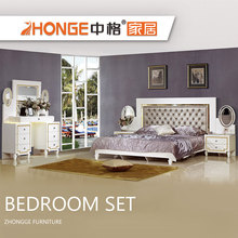 cheap home wooden new classic Italian provincial style mdf bedroom furniture set