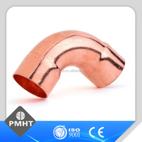 Long radius socket weld copper elbow
