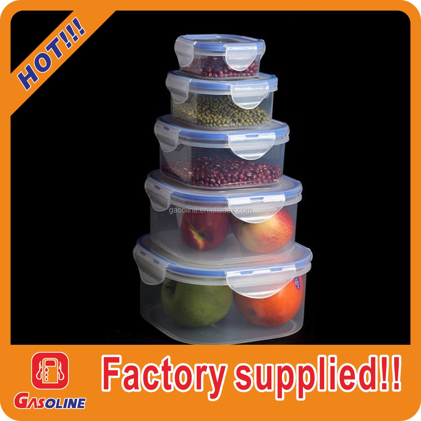 for microwave plastic vacuum sealing food storage container