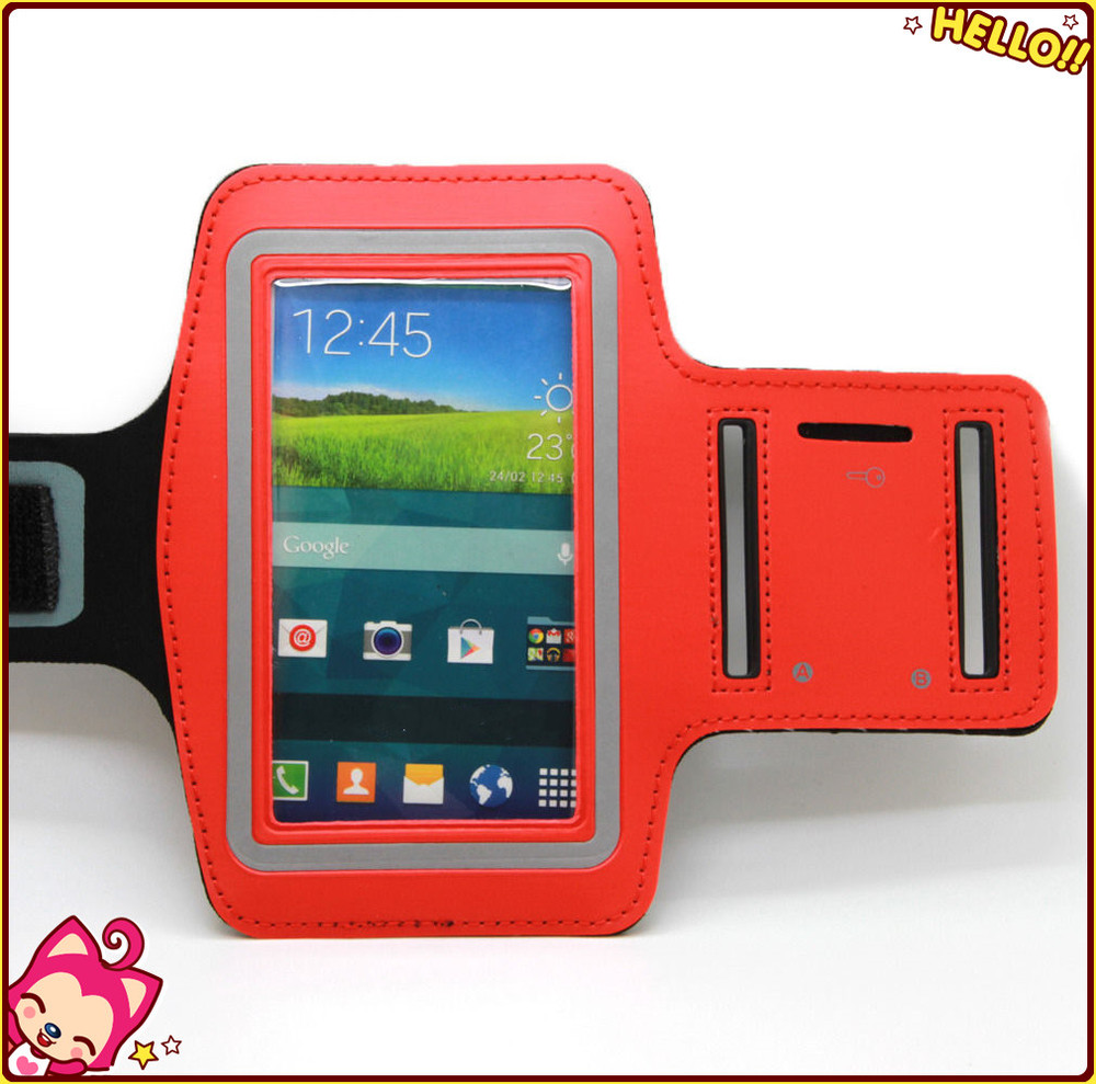 Hot Sale sport armband for samsung galaxy note 2 N7100 running jogging gym armband cases