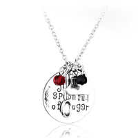 "2016 Mary Poppins Necklace""just a spoonful of sugar""Hand Stamped Letter Pendant with Crystals handbag spoon Charms DIY Necklace"