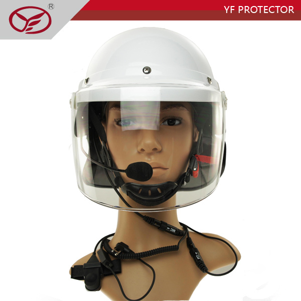 Riot Helmet with 100 meters Bluetooth Handsfree/Helmet with Wireless Communication