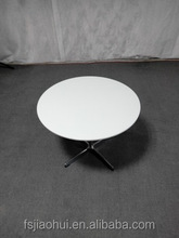 factory wholesale fiberglass round table modern classic Arne Jacobsen swan dining table