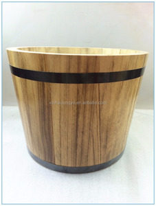 China manufacturer supply cheap wooden barrel/Small Wood bucket