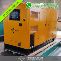 50Hz 110kva AC 3 phase silent diesel generator powered by VOLVO TAD531GE engine