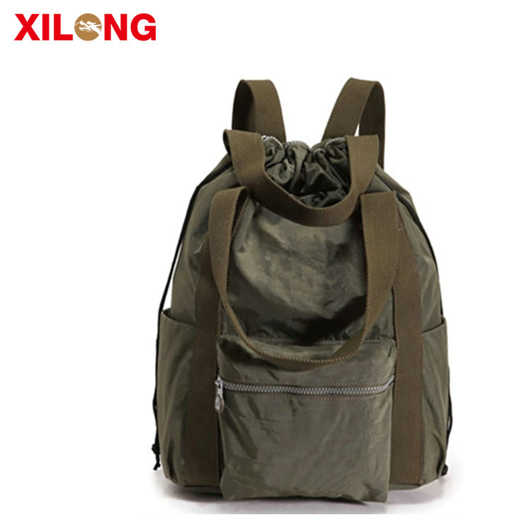 Fashion Promotional Leisure Polyester School Backpack