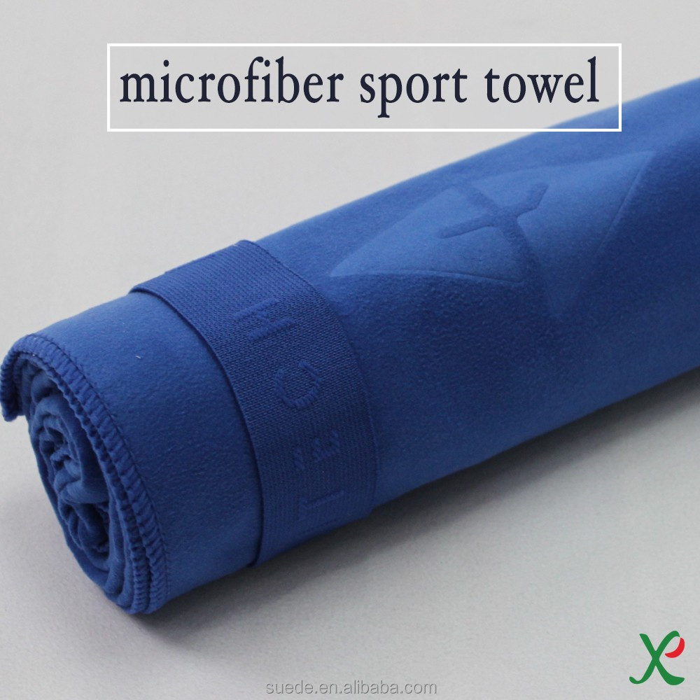 Quick dry soft textiles custom printed microfiber sports towel