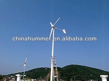 Japan House powered by China 1kw wind turbine generator