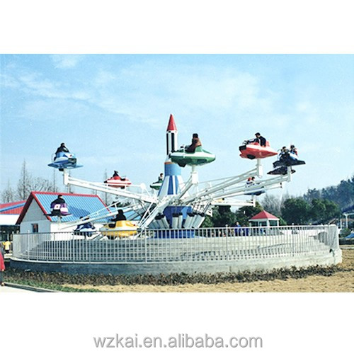 Self Control Plane Controllable Helicopter Kids and Adults Rides in Outdoor Playground Theme Park Equipments