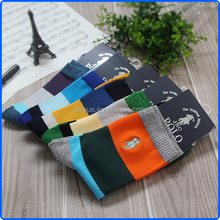 High quality men cotton name brand socks