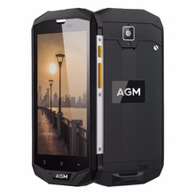 On Sale!! AGM A8 4G Smart Phone Dual SIM Unlock Android 7.0 IP68 Rugged Mobile Phone LTE