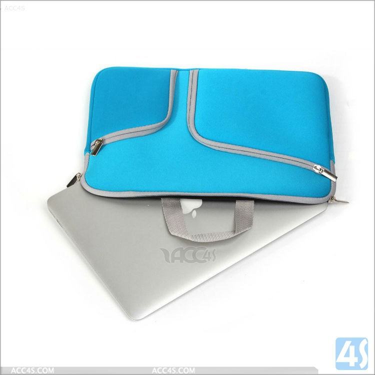 Factory price ! Amazing high quality neoprene sleeve for macbook air 11, laptop sleeve for macbook with soft fur inside