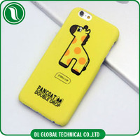 Fashion cartoon printing case PC phone case for iphone 4 5 6 6plus Cute animal cartoon phone covers