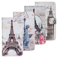 Wholesale Price Vintage London Wallet Leather beautiful case for samsung galaxy s2 i9100